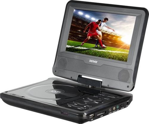 "Denver MT784NB, 7"" Portable DVD"