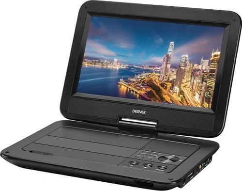 "Denver MT-1084NB, 10.1"" portable dvd speler, single screen"